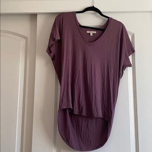 Flowy V Neck T shirt